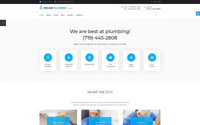 Oscar Plumber - Plumbing Services Joomla Template