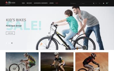 4Rover - Bike Store PrestaShop-tema