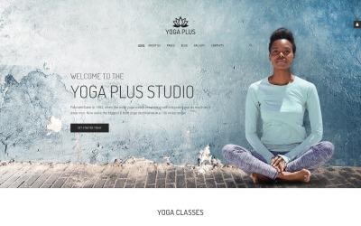 Yoga Plus - Йога-центр Мінімальний збалансований шаблон Joomla