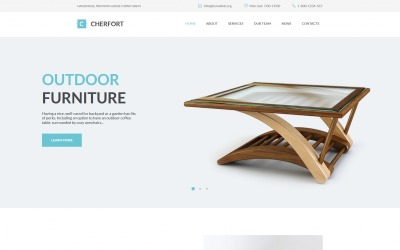 Cherfort - Furniture Company Moto CMS HTML Template