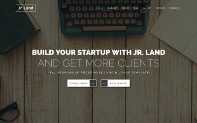 Jr.land - Responsive Landing Page Muse Template