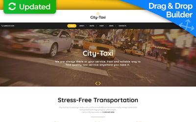 City Taxi - Taxi Service Moto CMS 3 Template