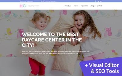 Kindergarten & Child Care Moto CMS 3 Template