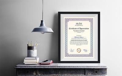 Corporate & Modern Word Multipurpose Certificate Template
