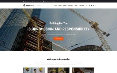 EngiBuild - Tema WordPress di costruzione