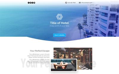 Hotelowy szablon PSD