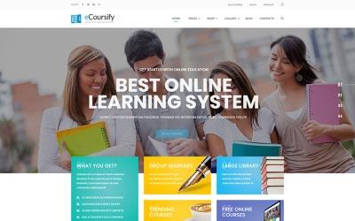 ECoursify - LMS для онлайн-курсів WordPress Theme