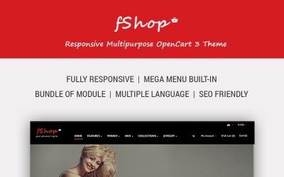 fShop - Advanced eCommerce OpenCart Template