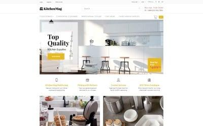 KitchenMag - Kitchen Supplies OpenCart Template
