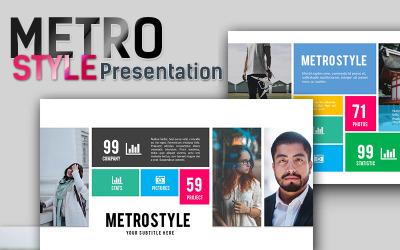 Metro Style Premium - Keynote template