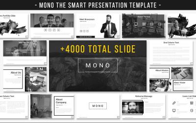 Mono - La plantilla de PowerPoint de presentación inteligente