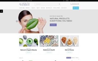 Health Is Wealth - Responsive OpenCart Template