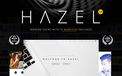 Hazel - Čistý minimalistický víceúčelový WordPress motiv
