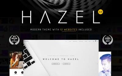 Hazel - Tema limpo e minimalista e multifuncional para WordPress