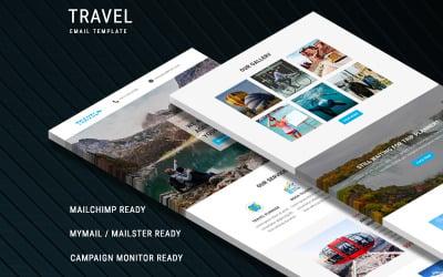 Podróże - responsywny szablon newslettera e-mail