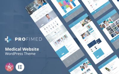 Profimed - Orvosi weboldal WordPress téma