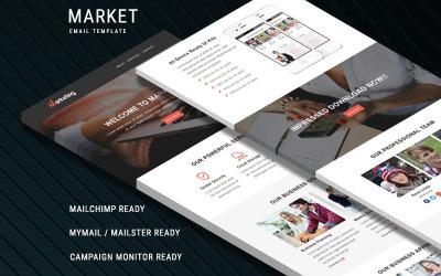 Marketing - Responsive Newsletter-Vorlage