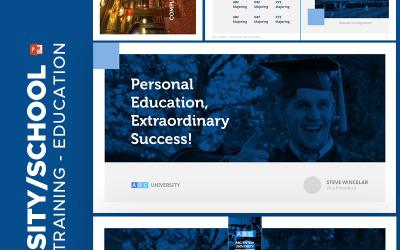 Університетська освіта - шаблон PowerPoint