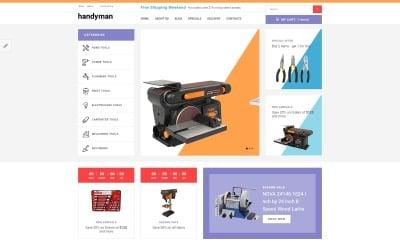 Handyman - Responsive Tools Store OpenCart Template