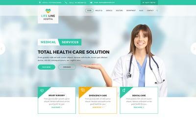 Life Line Hospital and Health Website Template