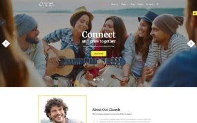 New Life Church Joomla Template