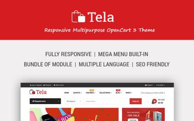 Tela - Multipurpose eCommerce OpenCart Template