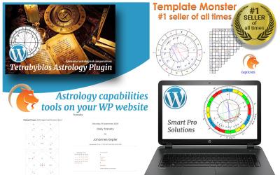Tetrabyblos - WordPress-plugin för astrologi