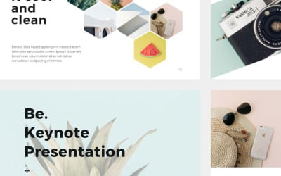 Be + 30 Photos - Keynote template
