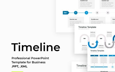 Timeline Pack for PowerPoint PowerPoint template