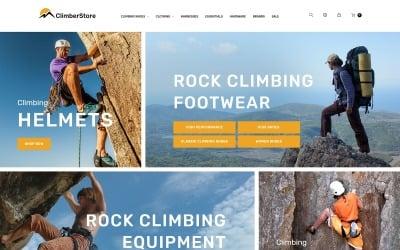 ClimberStore - Hegymászás magasabb PrestaShop témára