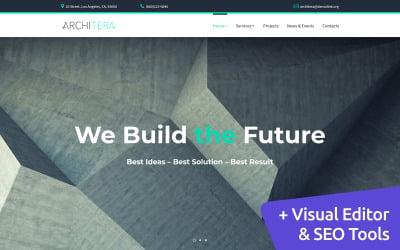 Architera - Architecture Firm Moto CMS 3 Template