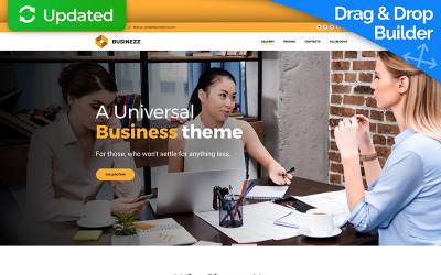 Businezz - Consulting Firms Landing Page Template