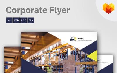 Depot - Flyer - Corporate Identity Template
