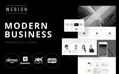 Webion - Minimal Elementor Mehrzweck-WordPress-Theme