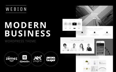 Webion - мінімальний елемент чи багатоцільова WordPress тема