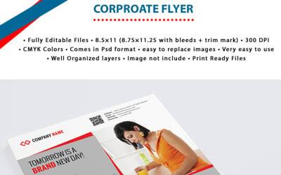 Business Companies Corporate Flyer - Corporate Identity Template