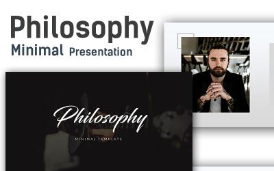 Philosophy Minimal - Keynote template