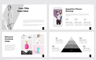 PROTHOM Creative and Minimal - modello PowerPoint