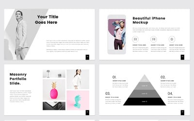 PROTHOM  Creative and Minimal - PowerPoint template