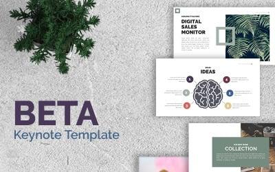 Beta Presentation - Keynote template