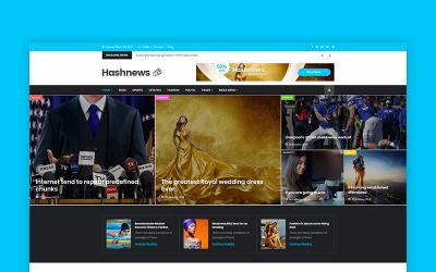 HashNews - Magazin és újság WordPress téma