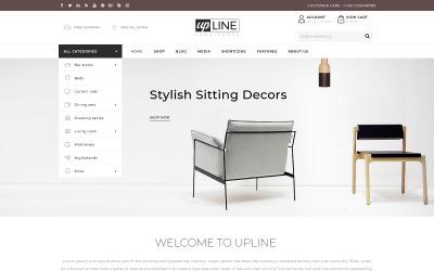 UpLine - Çevrimiçi Mobilya Mağazası WooCommerce Teması