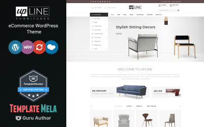 UpLine-家具在线商店WooCommerce主题