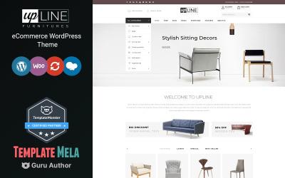UpLine - motiv WooCommerce online obchodu s nábytkem