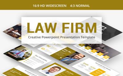 PowerPoint-Vorlage für Anwaltskanzleien