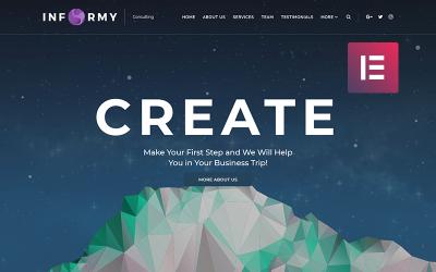 Informy - Poradenská společnost WordPress Elementor Theme