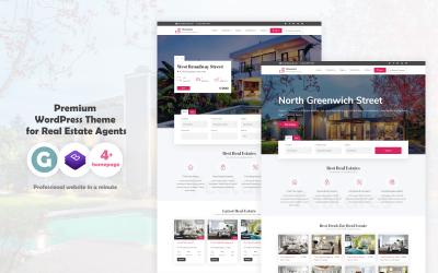 Homelist - Тема WordPress для нерухомості