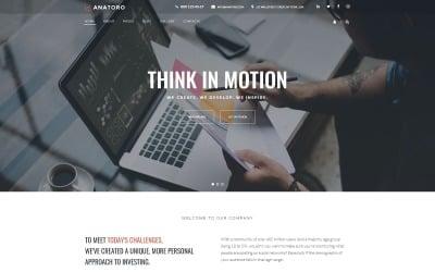 Anatoro - Consulting IT & Presentor Sleek Business Joomla Template