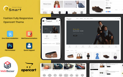 7Smart - Multipurpose Smart Shop OpenCart Template