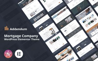 Tillägg - Mortgage Company WordPress Elementor Theme